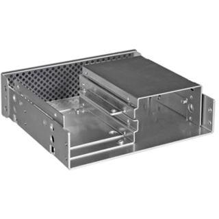 "Lian Li 4x 2,5"" Rack silber Blende für 5,25"" (BZ-525A)"