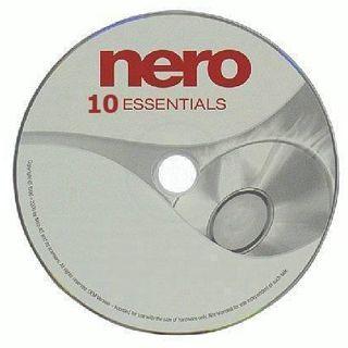 Nero Nero 10 Essentials 32 Bit Deutsch Brennprogramm OEM PC (DVD)