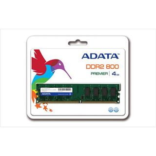 4GB ADATA Value DDR2-800 DIMM CL6 Dual Kit