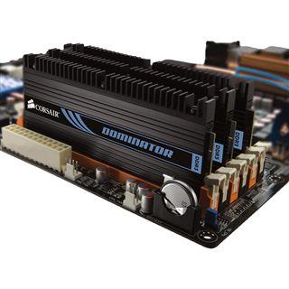 6GB Corsair Dominator DDR3-1600 DIMM CL8 Tri Kit