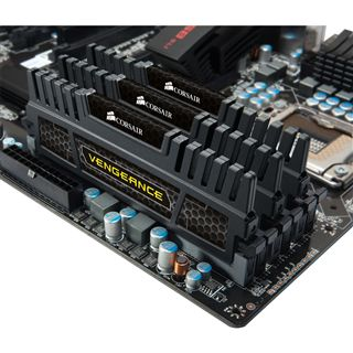 6GB Corsair Vengeance Black DDR3-1600 DIMM CL9 Tri Kit