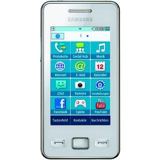 Samsung Star II S5260 100 MB weiß