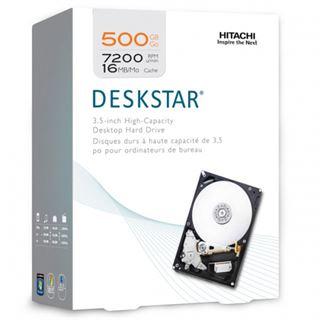 "500GB Hitachi Deskstar IDK 0S02572 32MB 3.5"" (8.9cm) SATA 3Gb/s"