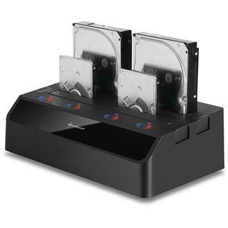 Sharkoon SATA Quickport Quattro USB 3.0 Dockingstation für