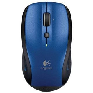 Logitech M515 Wireless USB Maus blau