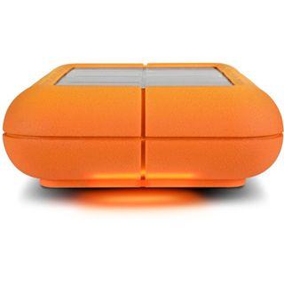 """2000GB LaCie Rugged XL 301873EK 3.5"""" (8.9cm) eSATA/USB 2.0 silber/orange"""