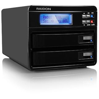 """2x3,5""""(8,89cm) Icy Box Raidon Sata 2xFireW"""
