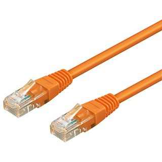 15.00m Good Connections Cat. 6 Patchkabel UTP RJ45 Stecker auf RJ45 Stecker Orange