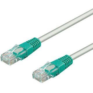 15.00m Good Connections Cat. 5e Patchkabel Crossover UTP RJ45 Stecker auf RJ45 Stecker Grau