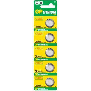 GP Batteries Batterie Lithium CR2025 / 05er Blister