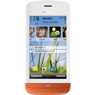 Nokia C5-03 white/orange
