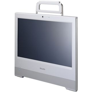 """15,6"""" (39,62cm) Shuttle X5020TA Plus weiss Touch All-in-One PC"""