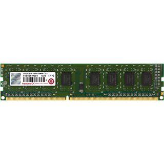 2GB Transcend JetRAM DDR3-1600 DIMM CL11 Single