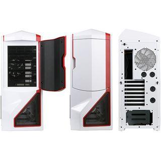 NZXT Phantom Big Tower ohne Netzteil weiss/rot