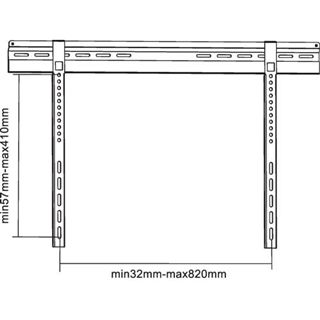 InLine 23148A Wandhalterung schwarz