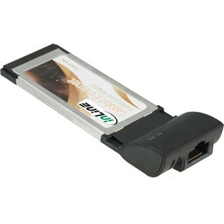 InLine PCMCIA Express Card (34mm), , Gigabit Netzwerk 1000MBit/s
