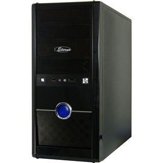 Inter-Tech Eterno V6 Guardian Midi Tower 500 Watt schwarz