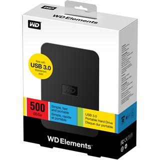 """500GB WD Elements Portable SE WDBPCK5000ABK-EESN 2.5"""" (6.4cm) USB 3.0 schwarz"""
