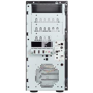 Chenbro PC61731 Midi Tower ohne Netzteil schwarz/silber