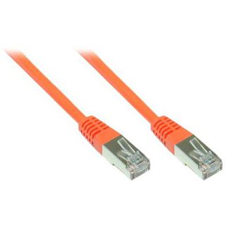 100.00m Good Connections Cat. 6 Patchkabel S/FTP PiMF RJ45 Stecker auf RJ45 Stecker Orange