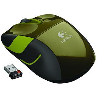 Logitech M525 USB gruen (kabellos)