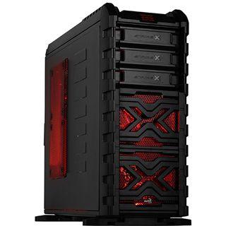 AeroCool Strike-X GT Midi Tower ohne Netzteil schwarz/rot