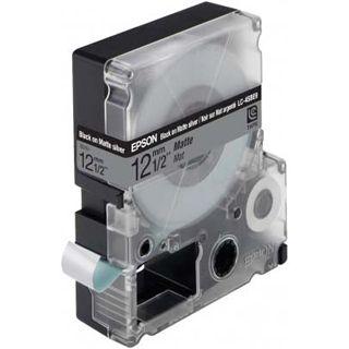 Epson LC-4SBE9 mattsilber Etikettenkassette (1 Rolle (1.2 cm x 9 m))