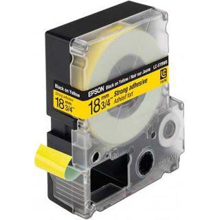 Epson LC-5YBW9 schwarz auf gelb Etikettenkassette (1 Rolle (1.8 cm x