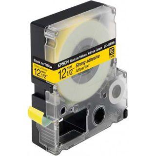 Epson LC-4YBW9 schwarz auf gelb Etikettenkassette (1 Rolle (1.2 cm x 9 m))