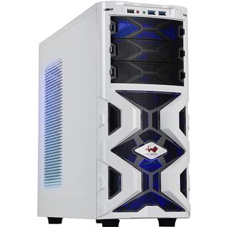IN WIN Mana 136 gedaemmt Midi Tower ohne Netzteil weiss