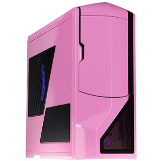 NZXT Phantom gedaemmt Big Tower ohne Netzteil pink