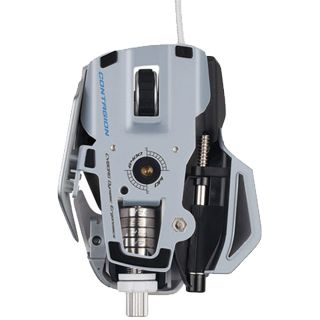 Mad Catz Cyborg R.A.T 7 Contagion Gaming Mouse USB weiß (kabelgebunden)