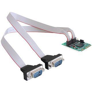 Delock 95226 2 Port PCIe Mini Card retail