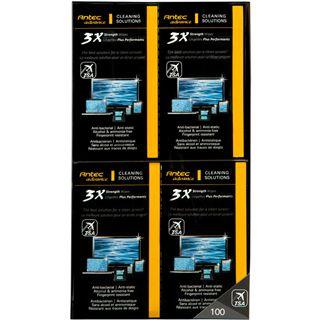 Antec 3X Cleaner Wipes elektronische Geräte Reinigungstuch 100 Stück (0-761345-77432-1)