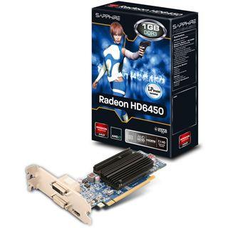 1GB Sapphire Radeon HD 6450 Passiv PCIe 2.0 x16 (Lite Retail)