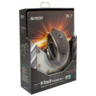 A4tech V-track Gaming Mouse F3 USB schwarz (kabelgebunden)