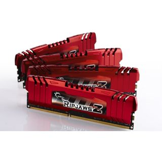 8GB G.Skill RipJawsZ DDR3-1600 DIMM CL9 Quad Kit