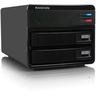 RaidSonic Raidon SafeTANK SL3650-LB2 ohne Festplatten