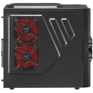 AeroCool Strike-X One Advance Midi Tower ohne Netzteil schwarz