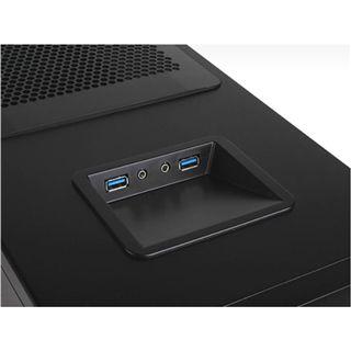 Silverstone Kublai KL04 USB 3.0 Midi Tower ohne Netzteil schwarz