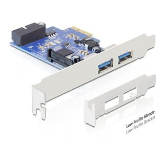Delock 89315 3 Port PCIe x1 retail