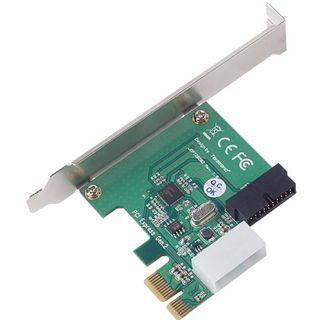 Silverstone SST-EC01-P 2 Port PCIe x1 retail