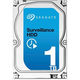 """1000GB Seagate Surveillance HDD ST1000VX000 64MB 3.5"""" (8.9cm) SATA 6Gb/s"""