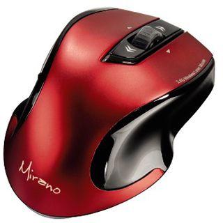 Hama Mirano USB schwarz/rot (kabellos)