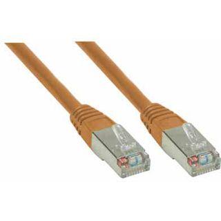 (€0,98*/1m) 5.00m Good Connections Cat. 6 Patchkabel S/FTP PiMF RJ45 Stecker auf RJ45 Stecker Braun