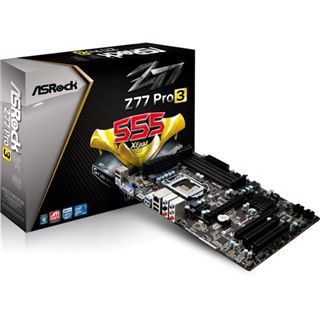 ASRock Z77Pro3 Intel Z77 So.1155 Dual Channel DDR3 ATX Retail