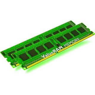 4GB Kingston ValueRAM DDR3-1066 regECC DIMM CL7 Dual Kit