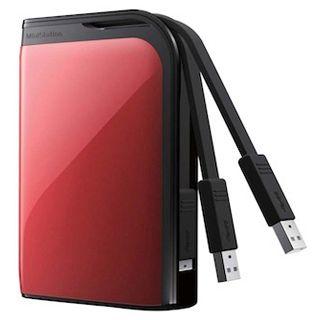 "500GB Buffalo MiniStation Extreme HD-PZ500U3R-EU 2.5"" (6.4cm) USB 3.0 rot"