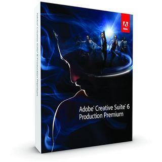 Adobe Creative Suite 6.0 Production Premium 64 Bit Englisch Grafik EDU-Lizenz PC (DVD)
