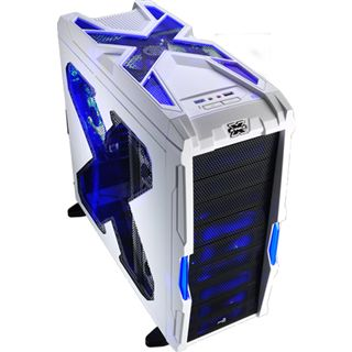 AeroCool Strike-X Advance White Edition Midi Tower ohne Netzteil weiss